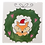 Thumbnail: Prelined Fox in Wreath Tile