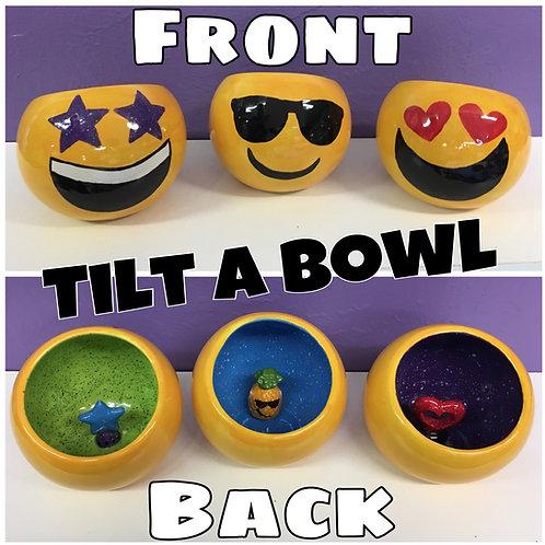 Emoji Tilt-a-bowl Small