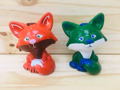 Fox Hill Elementary Fox Figurine
