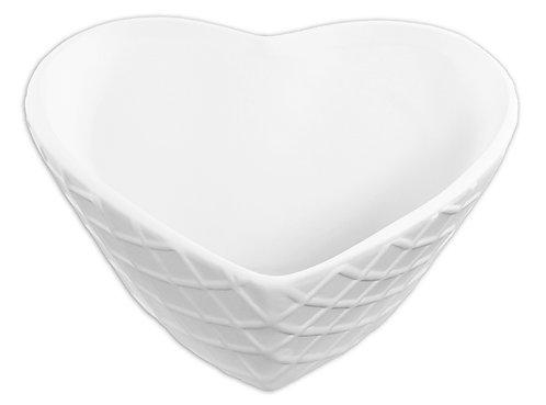 Heart Waffle Bowl