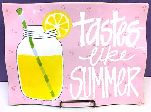 Tastes Like Summer Plate