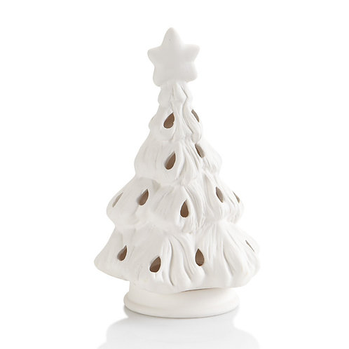 Christmas Tree Votive with Star
