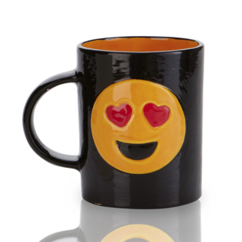 Heart Eyes Emoji Mug
