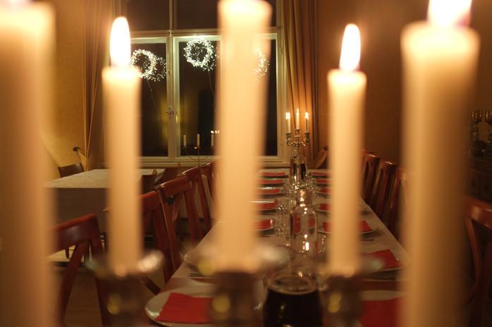 Финляндия. Рождественский ужин.