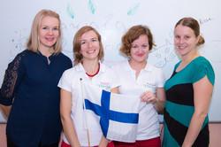 Мы с финскими друзьями