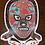 "Thumbnail: Los Delirians 5"" Lucha Sticker"