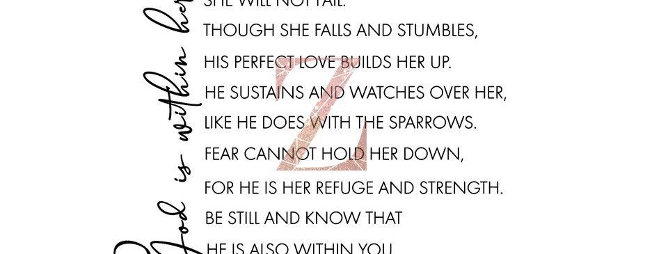 Psalm 46 Inspired DIGITAL