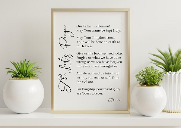 The Lord's Prayer Web Banner