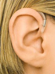 Power Behind the Ear Hearing Aid