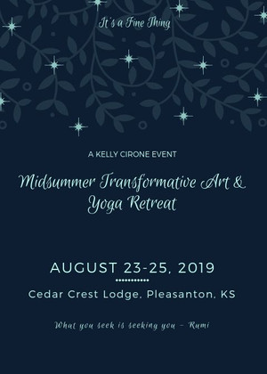 Midsummer Transformative Art and Yoga Retreat