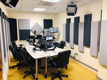 Video and Audio Podcast / Live Studio