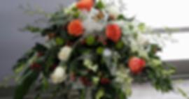 centre_table_d'urne_blanc,_orangé_avec_d