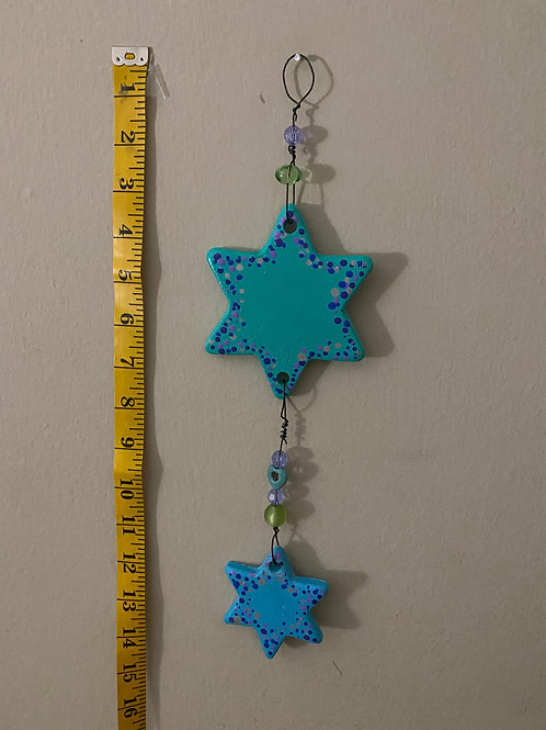 Hanging Beaded Star Adornment