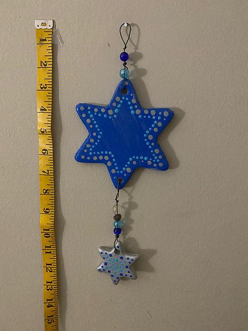 Hanging Beaded Star Adornment