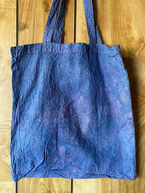 Naturally Dyed Cotton Tote