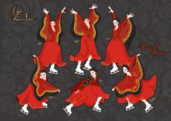 リチュアルダンス 赤