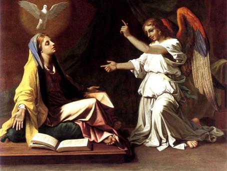 The Angel Said Unto Her ...