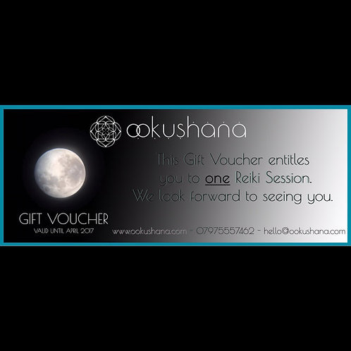 Gift Voucher for Reiki Treatment
