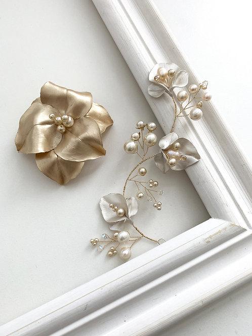 Arranjo Selene + Flor Cybele | Pronta- entrega