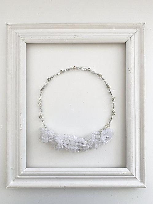 Coroa Boreal Branca | Pronta- entrega