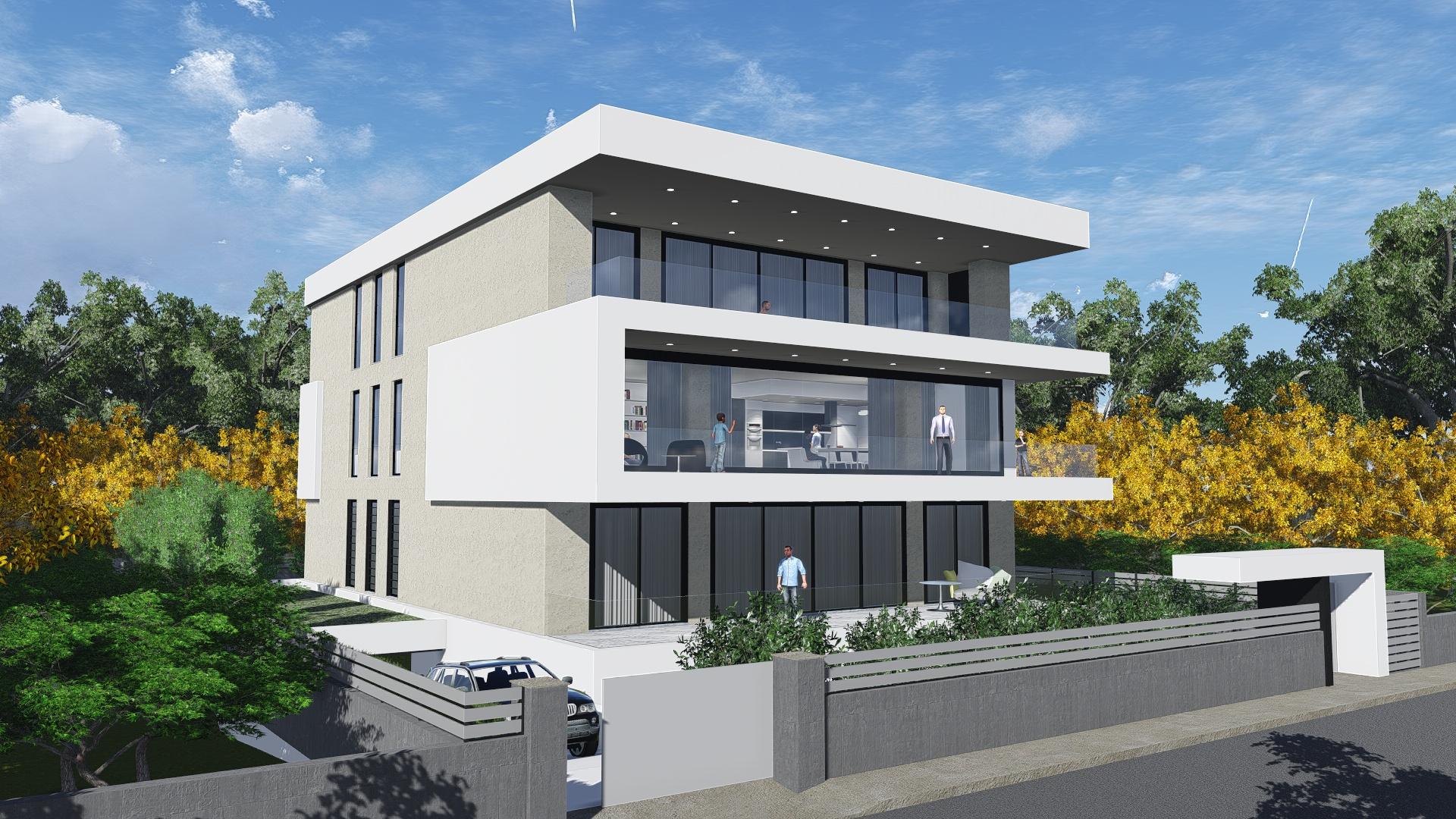 3 Apartments Building