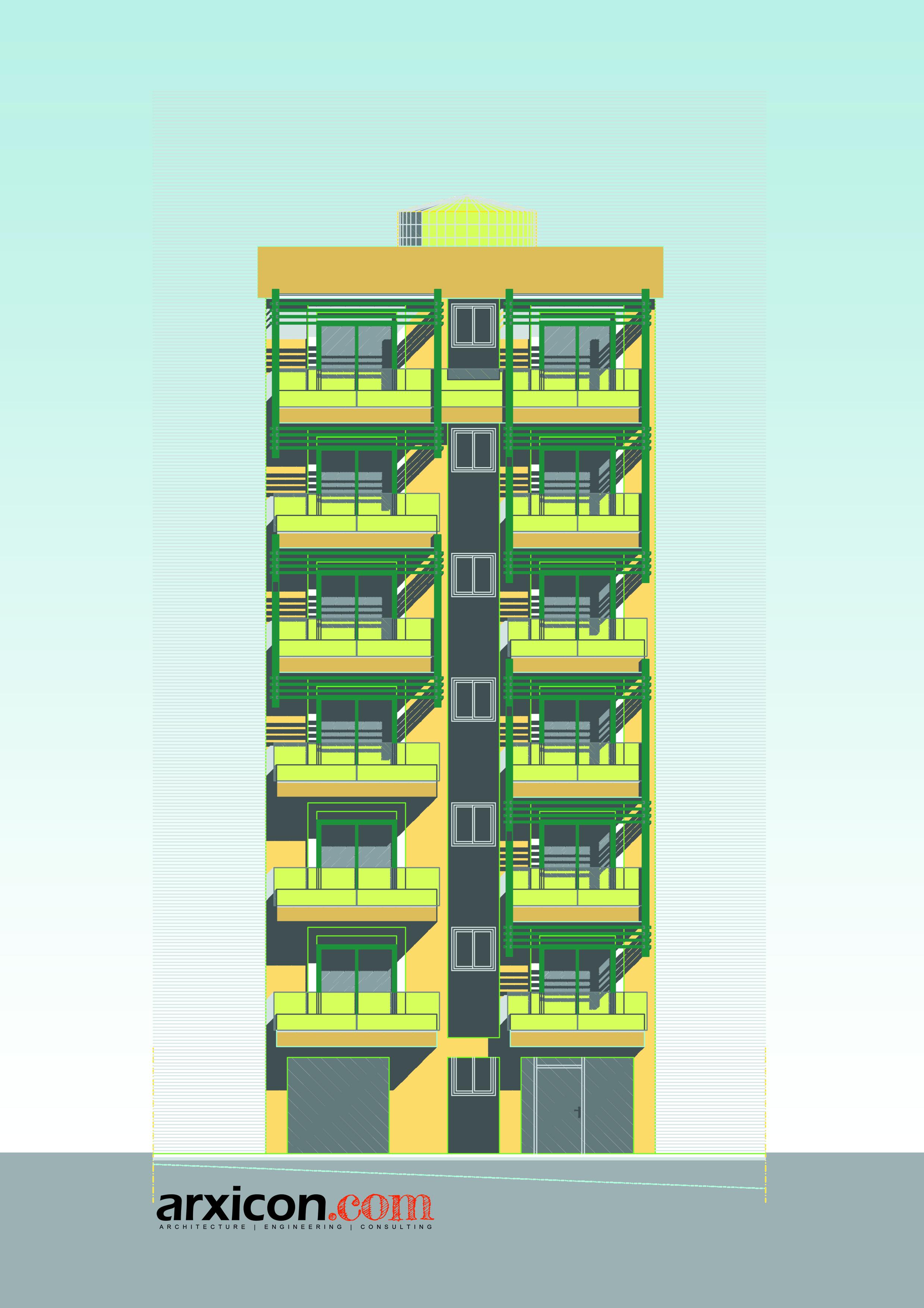 12 Apartments Building