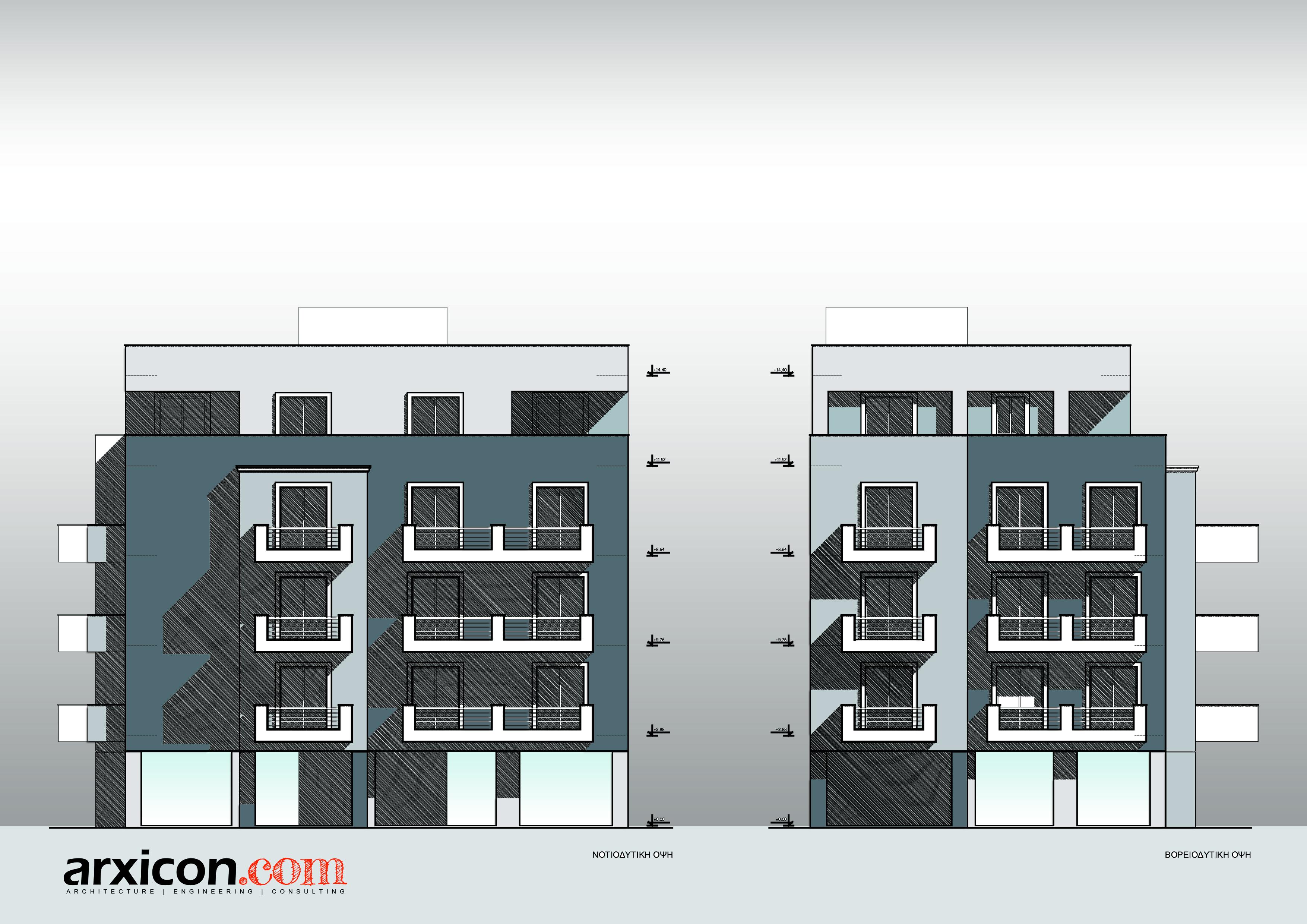 6 Apartments Building