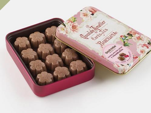 Amatller Chocolate Raspberry 72g