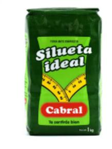 Cabral Yerba Mate 1kg Silueta Ideal