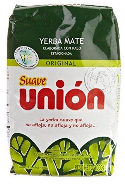 Union Yerba Mate Suave 1kg