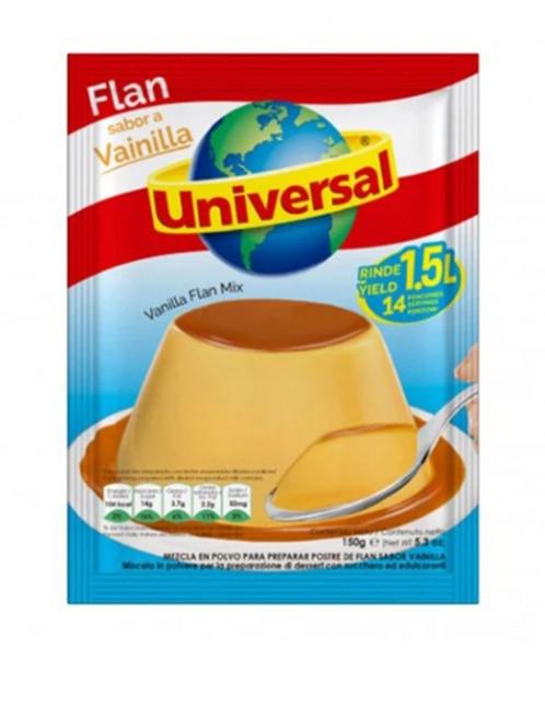 Universal Vanilla Flan Mix