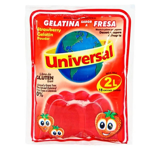 Universal Gelatina Fresa