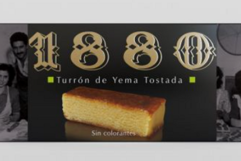 1880 Turron de Yema Tostada