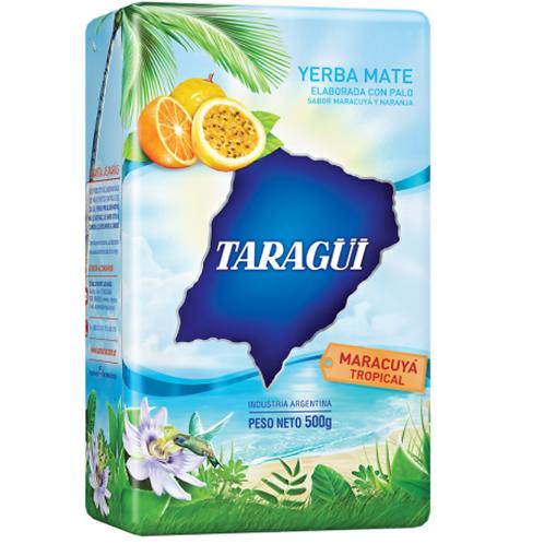 Taragui Yerba Mate 500g Passionfruit Tropical