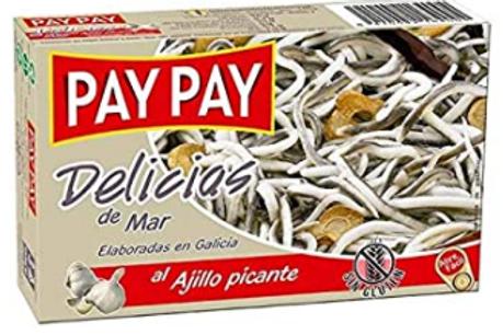 Spanish Delicias de Mar al Ajillo picante