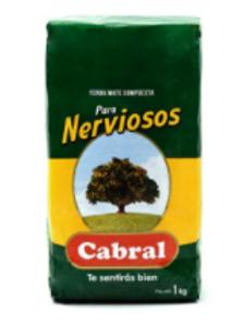 Yerba Mate 1kg Cabral Yerba Para Nerviosos