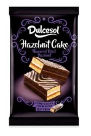 Dulcesol Black Hazelnut Cake