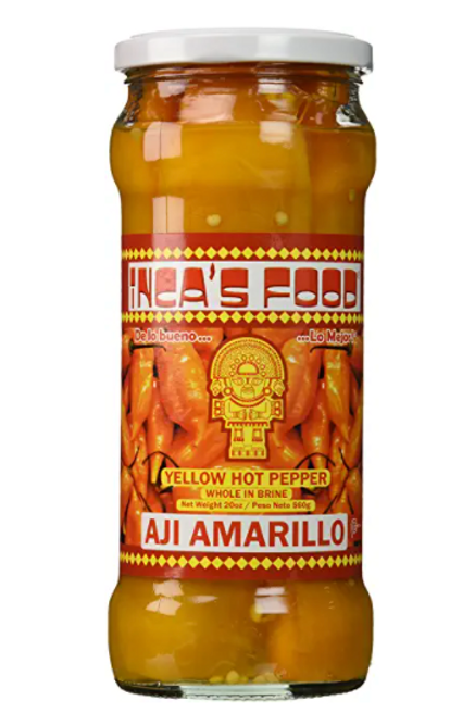 Inca's Food Aji Amarillo Whole