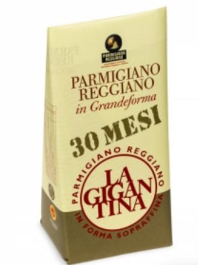 Parmigiano Reggiano 30 Mesi Wrapped Piece 500g +/-