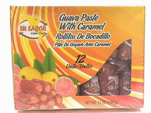 Guava Paste with Caramel Rollitos de Bocadillo