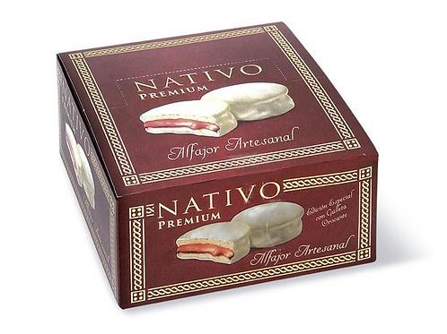 Nativo Alfajor Artesanal Nieve 8 pack