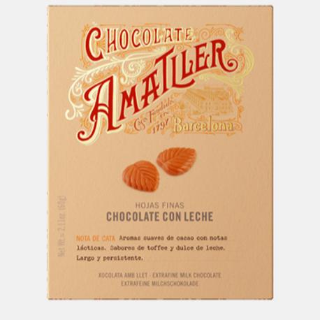 Amatller Milk Chocolate 60g