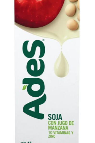 Ades Jugo Manzana Apple Juice & Soya