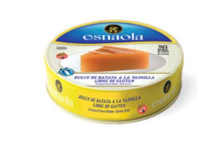 Esnaola Dulce de Batata con Vanilla