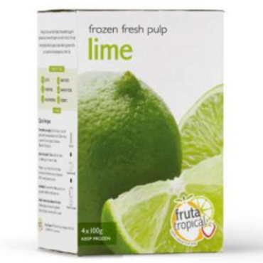 Frozen Fresh Pulp Lime 4x100g