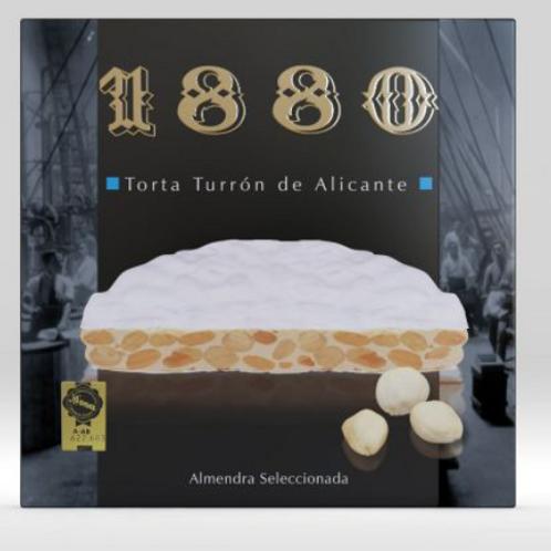 1880 Round Torta Turron de Alicante