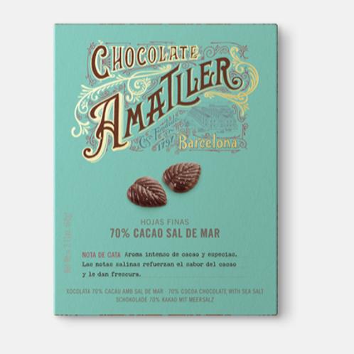Amatller 70% Cacao Sal de Mar 60g