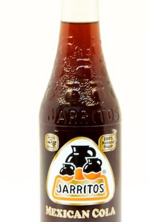 Jarritos Mexican Cola 24 Glass Bottle