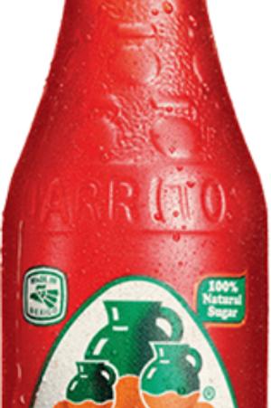 Jarritos Strawberry Glass Bottle