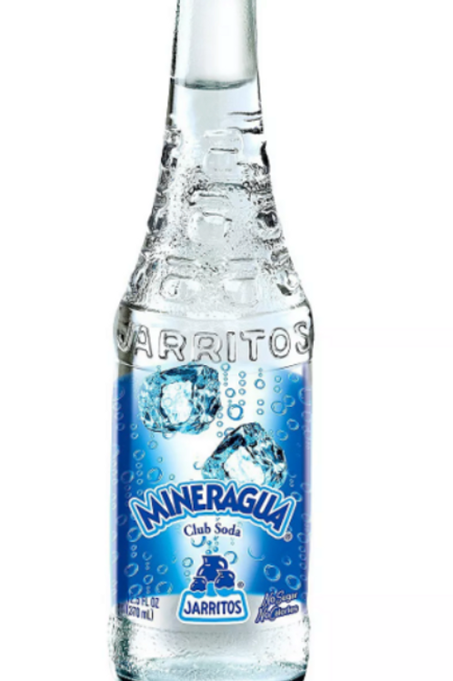 Jarritos Mineragua 24 Glass Bottle
